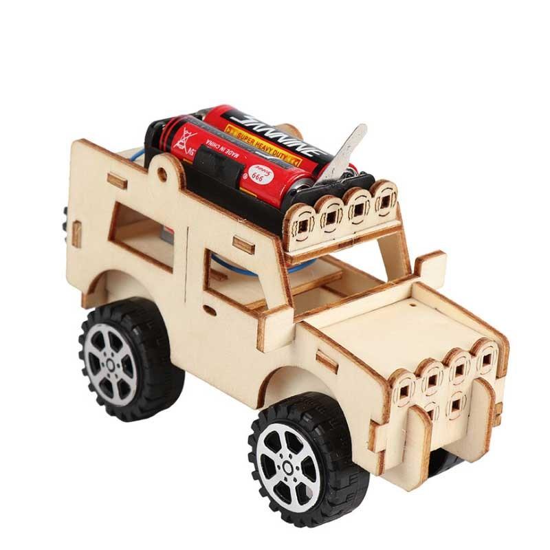 おもちゃDIY 電気ジープモデルキット