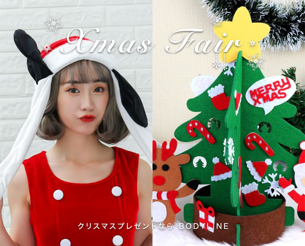 クリスマスプレゼント・デコレーション雑貨!